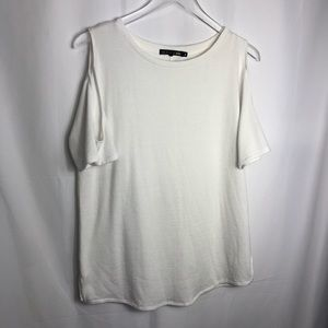 Rag And Bone Jeans Shoulder Cut out Top 0255